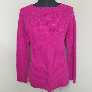 Talbots Magenta Sweater- LP